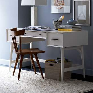 west elm Mid-Century Desk - White