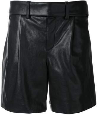 Saint Laurent high waisted shorts