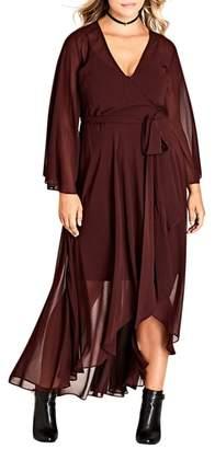 City Chic 'Fleetwood' Maxi Dress