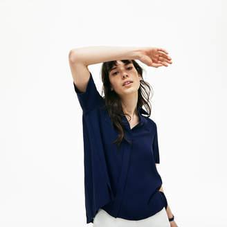 Lacoste (ラコステ) - レギュラーフィット クレープ シャツ