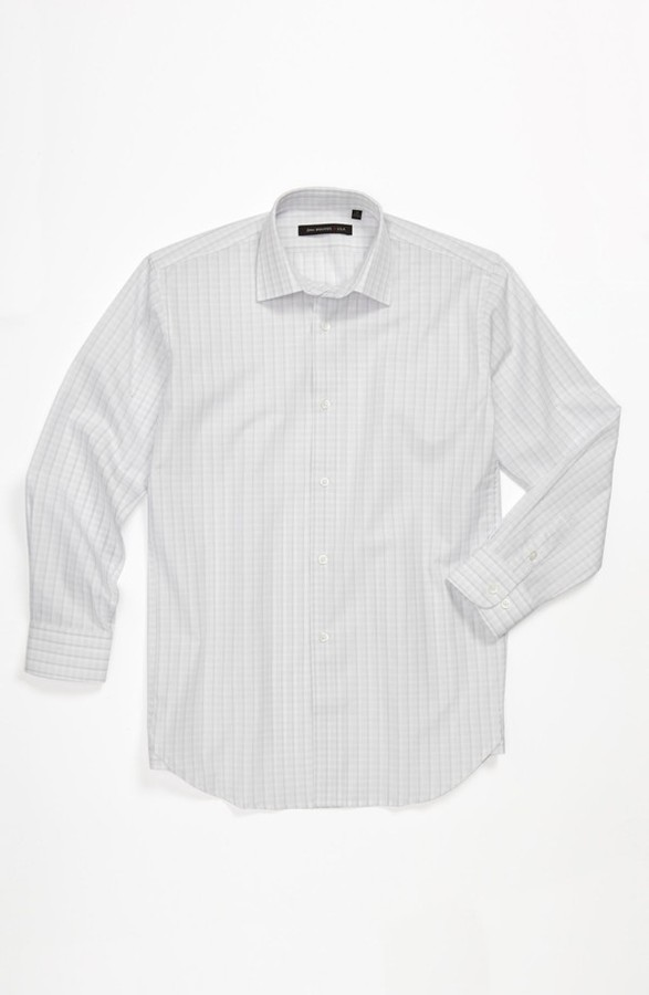 John Varvatos Check Dress Shirt (Big Boys)