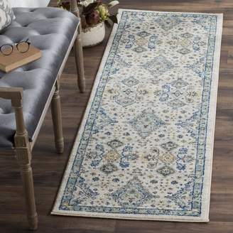 Darby Home Co Minonk Ivory/Light Blue Area Rug Rug