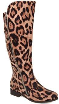 9bd37f682cc1 Brinley Co. Womens Comfort Extra Wide Calf Faux Suede Riding Boot