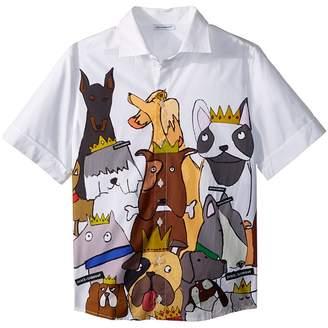 Dolce & Gabbana Short Sleeve Shirt Boy's Clothing