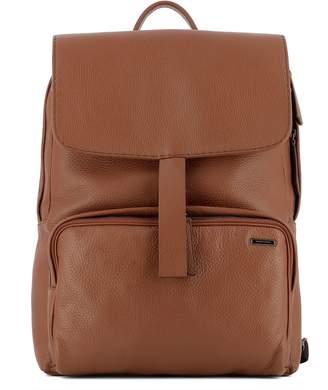 Zanellato Brown Leather Backpack
