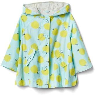 Fruity rain poncho $39.95 thestylecure.com