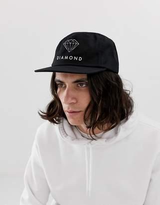 Diamond Supply Co. Unconstructed Snapback Cap With Futura Logo