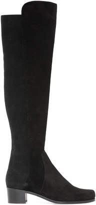 Stuart Weitzman Leather Cuissard Boots