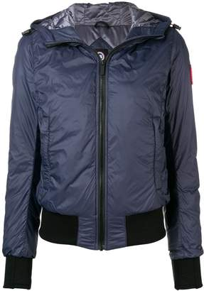 Canada Goose hooded puffer jacket