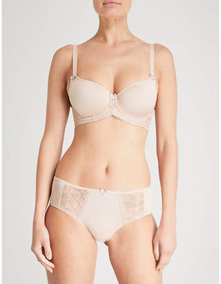 Panache Cari jersey moulded full-cup bra