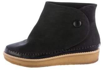 Stella McCartney Vegan Suede Ankle Boots