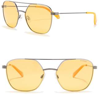 Polaroid Polarized 56mm Navigator Sunglasses