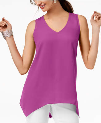 INC International Concepts I.n.c. Handkerchief-Hem Top, Created for Macy's