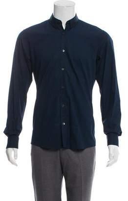 Dries Van Noten Woven Button-Up Shirt