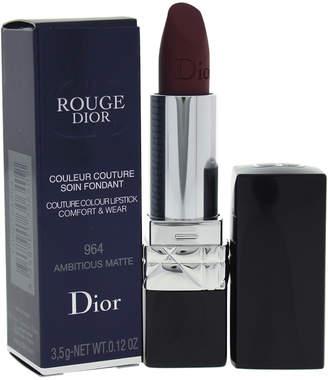 Christian Dior 0.12Oz Ambitious Matte Rouge Couture Colour Comfort & Wear Lipstick