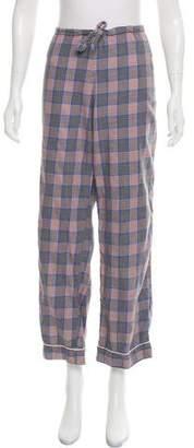 Steven Alan Plaid Pajama Pants