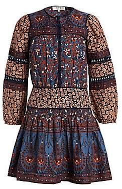 Sea Women's Gemma Cotton Peasant Dress