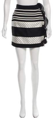 Ungaro Ruffled Mini Skirt w/ Tags