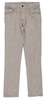 James Perse Woven Skinny Jeans