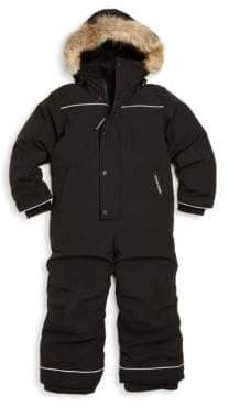 Canada Goose Toddler's& Little Boy's Grizzly Fur Trim Down Snowsuit