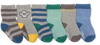 Infant Boys' Super Cool Baby Sock (12 Pairs).