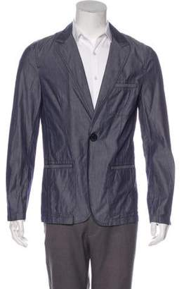 Lanvin x Acne Chambray Sport Coat blue x Acne Chambray Sport Coat