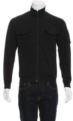 Dries Van Noten Zip-Up Utility Sweatshirt