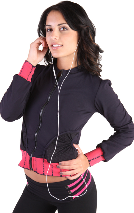 Body Angel Activewear Heart Jacket