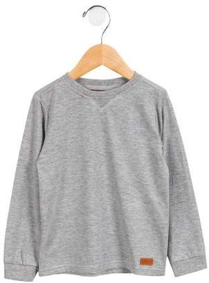 7 For All Mankind Boys' Mélange Crew Neck Shirt
