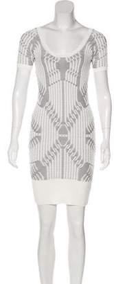 Vena Cava Jacquard Bodycon Dress