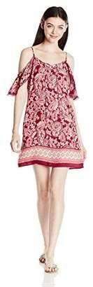 Trixxi Women's Cold Shoulder Dress