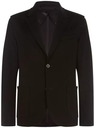 Lanvin Raw Edge Cotton Blazer