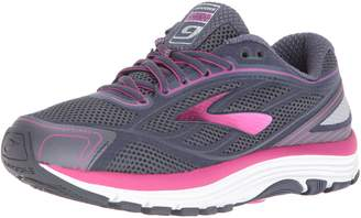 Brooks Women's, Dyad 9 Running Shoe Navy Multi 8 B