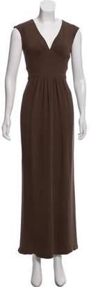 Oscar de la Renta Silk Evening Dress