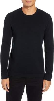 Theory Udeval Matelasse Crewneck Sweater