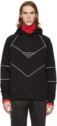 Givenchy Black Contrast Piping Hoodie