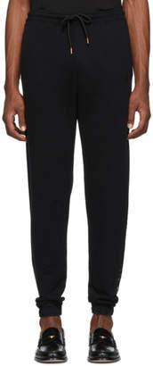 Marcelo Burlon County of Milan Black Muhammad Ali Edition Embroidered Lounge Pants