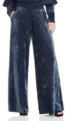 Joie Lemani Velvet Wide-Leg Pants