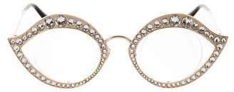 Gucci 2017 Cat-Eye Eyeglasses w/ Tags