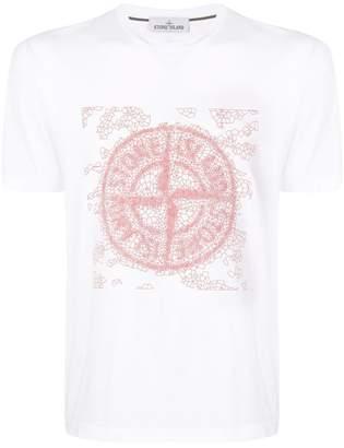 Stone Island logo print T-shirt