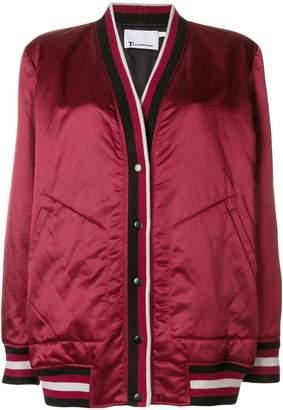 Alexander Wang rib trimmed cardigan jacket