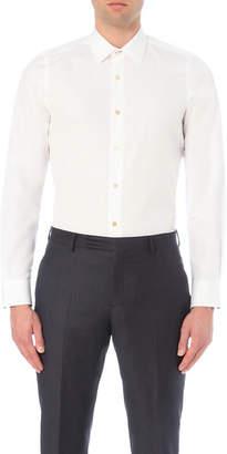 Paul Smith Striped-cuff cotton shirt