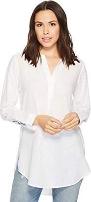 Jag Jeans Women's Back Button Magnolia Tunic