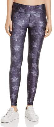 Terez Star Print Heathered Leggings $82 thestylecure.com