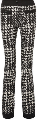 Moncler Grenoble - Houndstooth Twill Ski Pants - Black $1,500 thestylecure.com