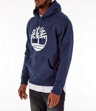 Timberland Mens Big Tree Logo Hoodie