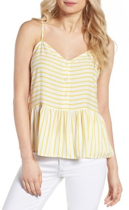 Women's Cupcakes And Cashmere Emmanuel Stripe Tank $85 thestylecure.com