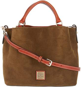 Dooney & Bourke Suede Small Brenna Satchel Handbag