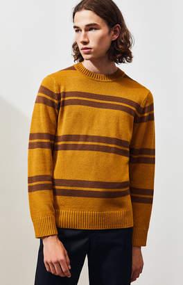 Brixton Wes Striped Crew Neck Sweater