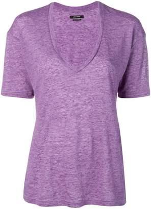 Isabel Marant V-neck short-sleeve T-shirt